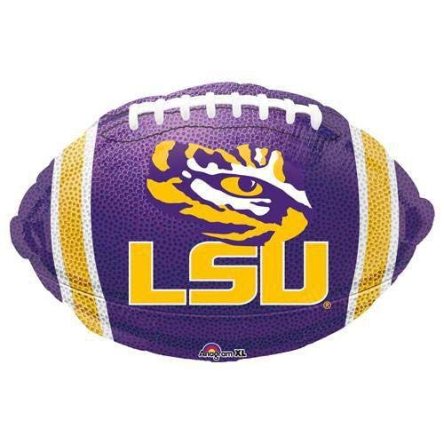 Anagram 32199 Louisiana State University Junior Shape Foil Balloon 17 Multicolored Lsu