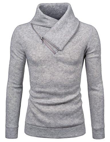 Slim Zip Sweatshirt - 7