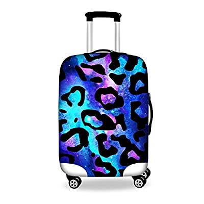 HUGS IDEA Stylish Elastic Travel Luggage Prodective Cover for 18-30 Inch Suitcase well-wreapped