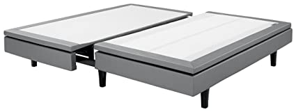 Serta Mattress Motion Perfect III Adjustable Bed Base Divided King Wireless Bluetooth