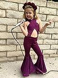Selena Purple Costume Girls outfit