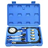 8milelake Professional Petrol Gas Engine Cylinder Compression Tester Gauge Kit Auto Tool