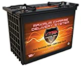 VMAX XTR12-155 12V 155AH AGM Deep Cycle Battery for Golf Carts and EV's, high performance and maintenence-free, 12V 155Ah, BCI Group Code GC12 AGM battery