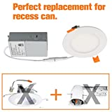 15W 7.5'' Dimmable LED Disk Light,Flush Mount