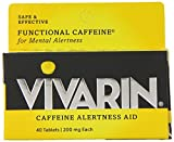 Cheap Vivarin Alertness Aid Tablets 40 Count 200mg Tablets (4 Pack)