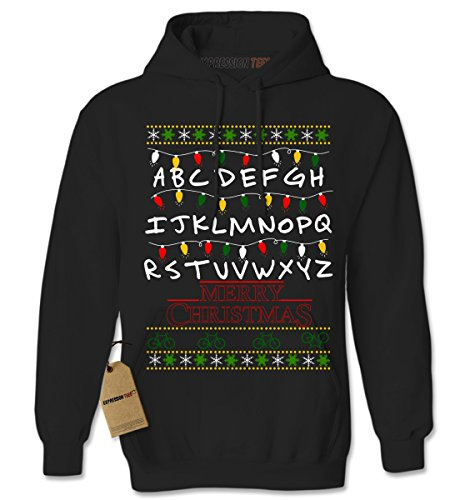 Stranger Things Merry Christmas Ugly Holiday Hoodie
