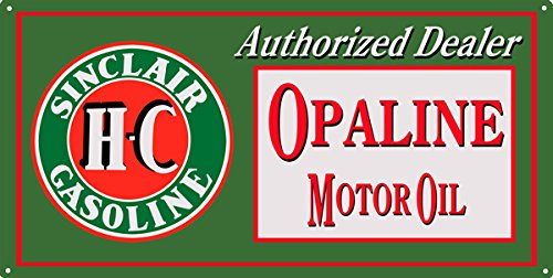 Sinclair Gasoline Large Reproduction Motor Oil And Gas Station Sign (Gas Station Sign)