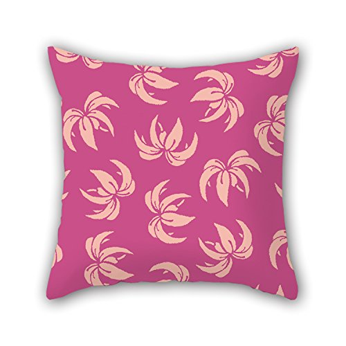 PILLO Flower Cushion Covers 16 X 16 Inches / 40 By 40 Cm For Drawing Room,birthday,festival,pub,sofa,office With Double Sides (Flower Shifter Knobs)