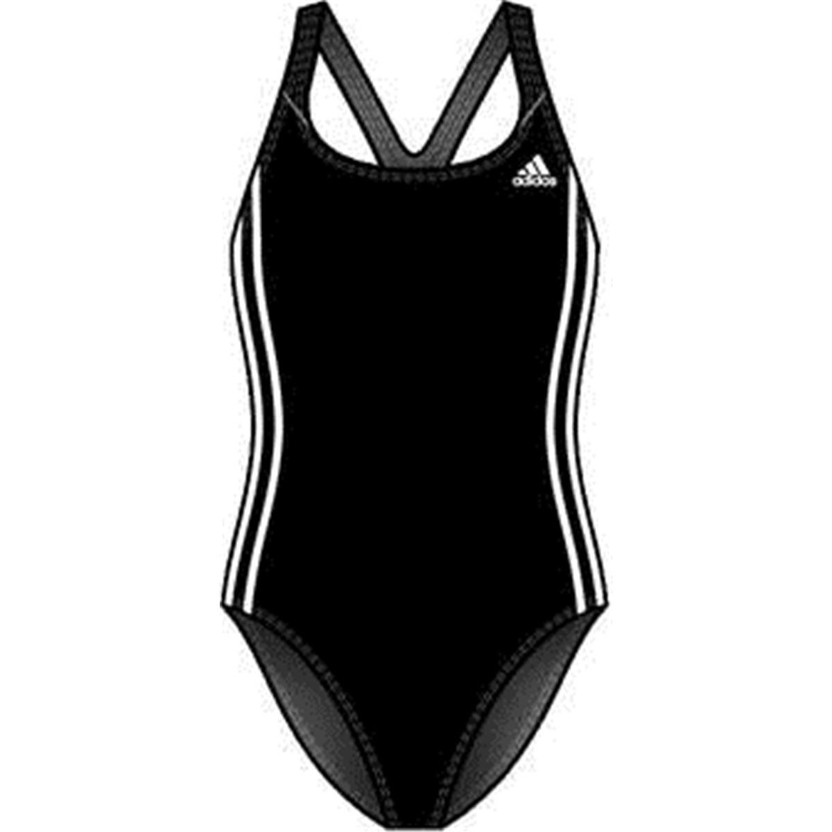 adidas authentic maillot de bain pour fille infinitex 3 bandes one piece