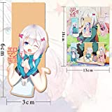 Apehuyuan Anime Figure Magnetic Bookmarks for Women