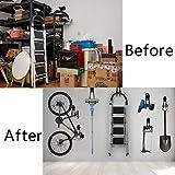 Garage Hooks and Hangers 10-Pack – Steel Storage