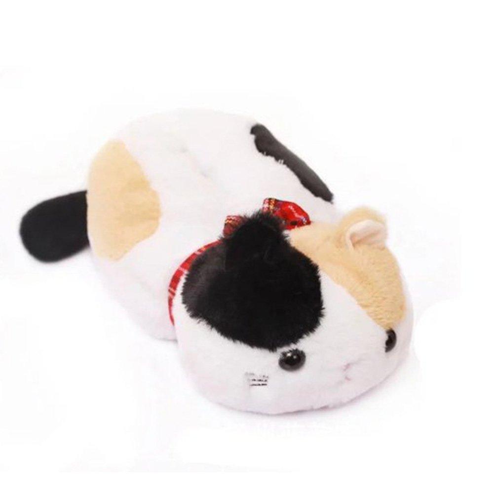 WuKong Cartoon Animal Design Cat Plush Napkin Tissue Box Case Holder Cover (black yellow)