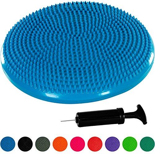 MOVIT® Ballsitzkissen inkl. Pumpe, phthalatfrei, TÜV SÜD getestet, 9 Farbvarianten, 2 Größen: 33cm bzw. 37cm
