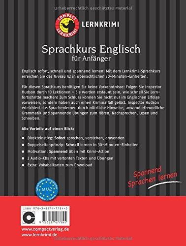 Compact Lernkrimi Sprachkurs Englisch Spannend Sprachen Lernen Für