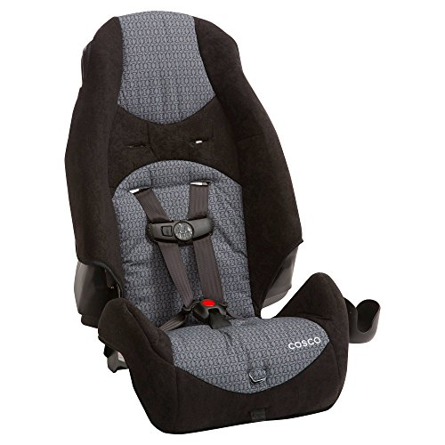 Cosco Highback 2-in-1 Adjustable Positiong 5-Point Booster Car Seat, Sugar Plum