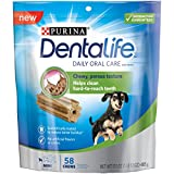 Purina DentaLife Daily Oral Care Mini Adult Dog Treats - (1) 17.1 oz., 58 ct. Pouch