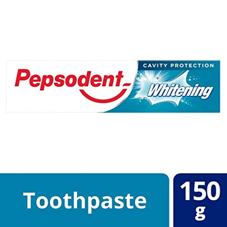 Pepsodent Whitening Germicheck Toothpaste, 150 g Toothpaste at amazon
