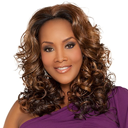 Vivica A. Fox FHW130-V New Futura Fiber, 3/4 Half Wig in Color 2 ()