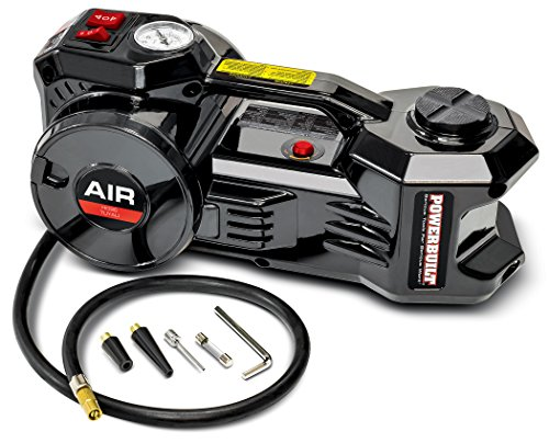Powerbuilt 620484 Inflactor 12V Electric Jack and Tire inflator
