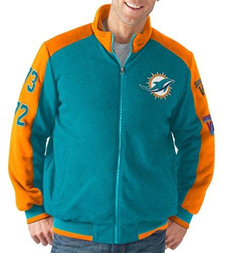 G-III Sports Miami Dolphins NFL Classic Men's Super Bowl Commemorative Varsity Jacket