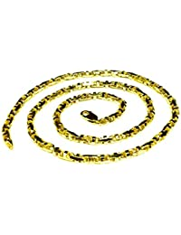 14K Solid Yellow Gold Anchor Mariner Link Chain Necklace 4 Mm(Wb10904