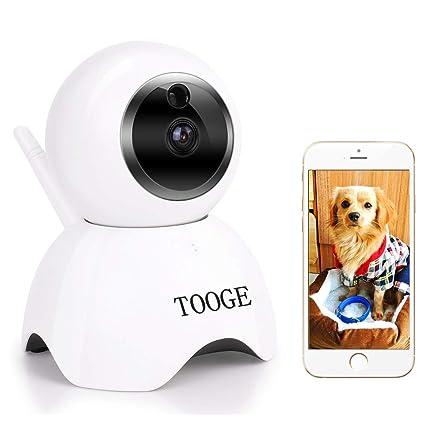 Amazon.com: TOOGE Cámara de mascotas, Cámara de perro FHD ...