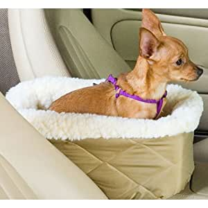snoozer console pet car seat small khaki pet supplies. Black Bedroom Furniture Sets. Home Design Ideas