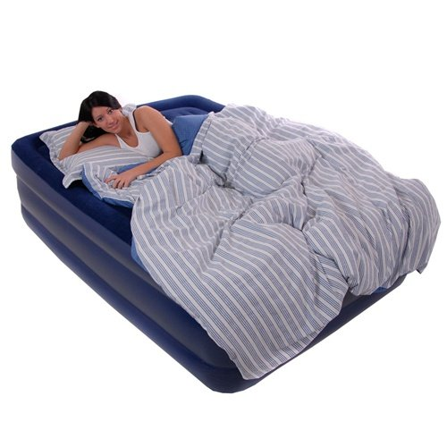 Smart Air Beds Comfort Top Flocked Queen Size Air Bed