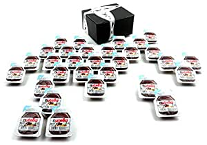 Ferrero Nutella Hazelnut Spread With Cocoa, 0.52 oz Single Serve Packets in a BlackTie Box (Pack of 30)