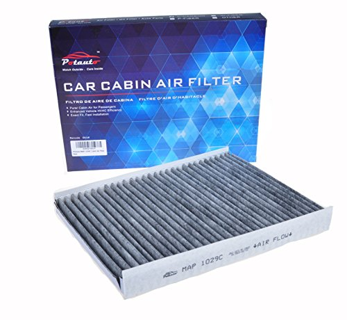 POTAUTO MAP 1029C Heavy Activated Carbon Car Cabin Air Filter Replacement compatible with HYUNDAI, Santa Fe, KIA, Sorento (Upgraded with Active Carbon) by Potauto