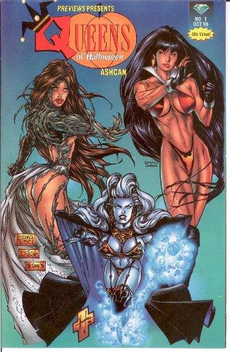 Queens of Halloween Ashcan #1 Previews