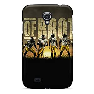 Whcases Premium Protective Hard Case For Galaxy S4- Nice Design - Pittsburgh Steelers