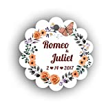 100Pcs Personalized Hang Gift Tag With Name For Wedding and Bridal Shower or Baby Shower Favor (TAG-01)