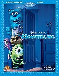 Monsters, Inc. (2 Disc Blu-ray + DVD) [Blu-ray]