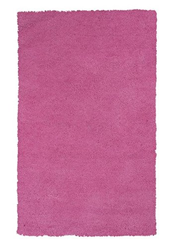 KAS Rugs 1576 Bliss Area Rug, 5 By 7 Feet, Hot Pink