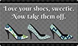 Toland Home Garden 800445 Love Your Shoes Doormat, Multicolor