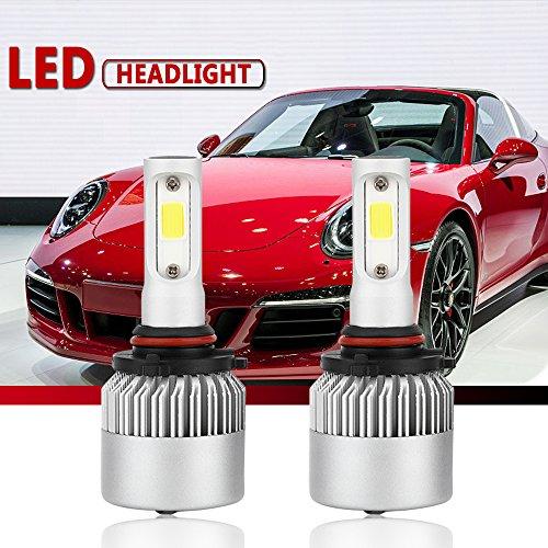 Car Headlamp Bulbs (9006/HB4 LED Headlight Conversion Kit, Auto Car Led Headlamp Bulbs, 6000K Cool White All-in-One Error Free Design (9006/HB4))
