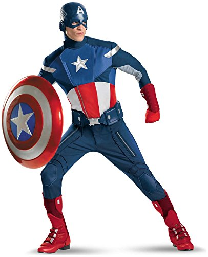 Captain America Theatrical Adult Costume - XX-Large for $<!--$220.57-->