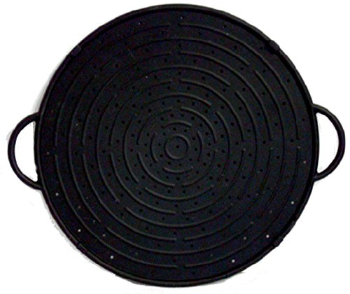 CleanZone Silicone Splatter Guard/Baking Tray - Black - 30cm. Superior Quality + 10 Year Guarantee WellBake 201201