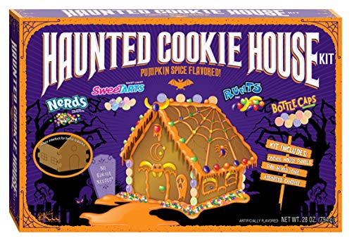Halloween Wonka Haunted Cookie House Kit - Pumpkin Spice Flavored, 28 ounces ()