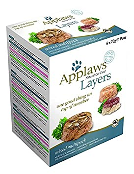 Applaws Lote de 6 capas de comida para gatos (70 g): Amazon.es: Productos para mascotas