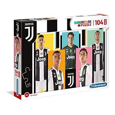 Clementoni Supercolor Puzzle Juventus 104 Pezzi Maxi Multicolore 23725