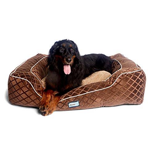 Simmons Beautyrest Pet Beautyrest Super Lounger Orthopedic Dog Bed