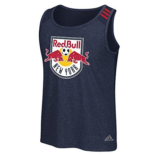 MLS New York Red Bulls Men's Lightweight Tank Top, Navy, Large