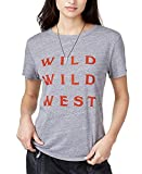 Sub_Urban RIOT Women's Wild Wild West Graphic-Print T-Shirt Heather Grey Large