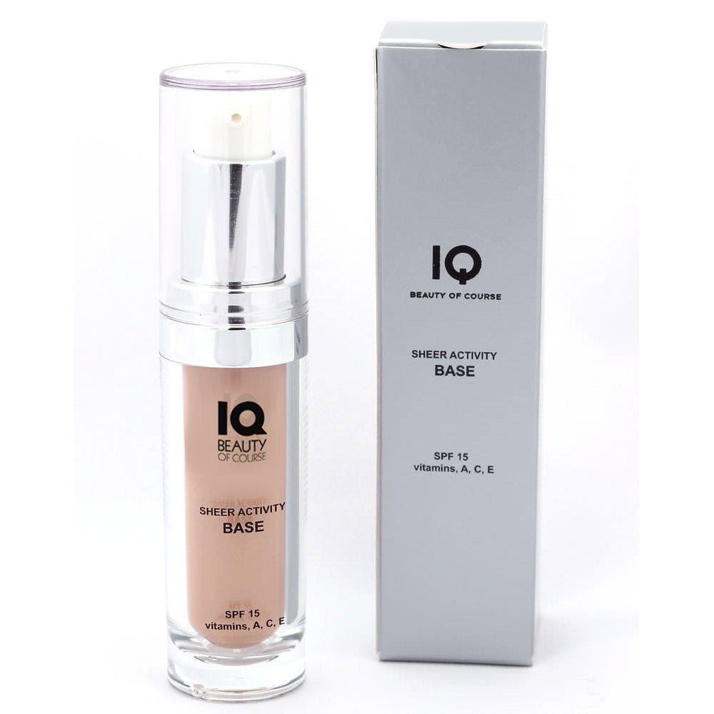 IQ Beauty Tinted Moisturizer Sheer Activity Base SPF 15-0.5oz