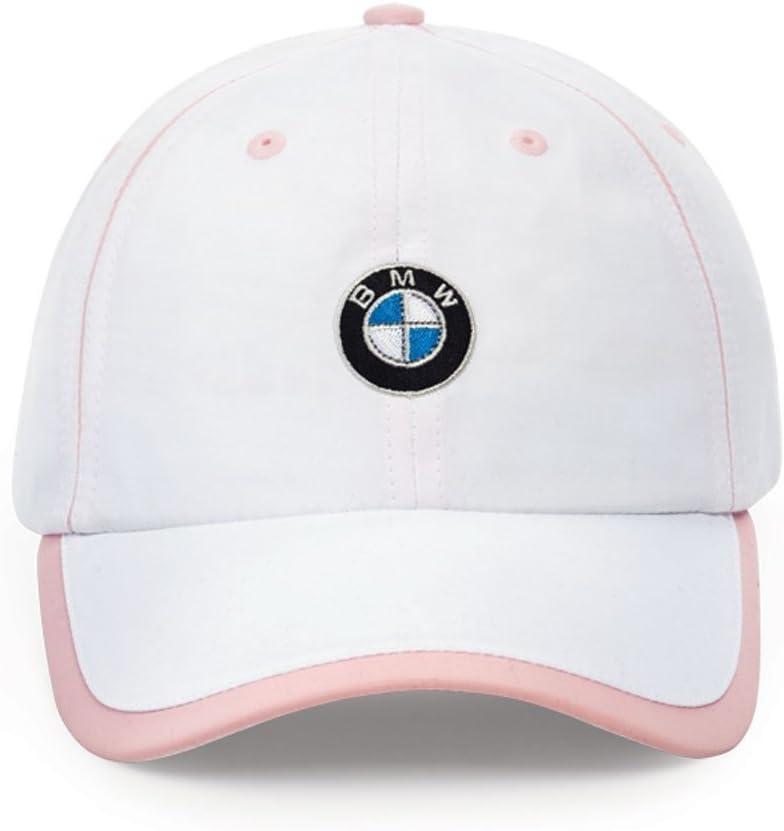 B003R44BQU BMW Ladies' Microfiber Cap White/Pink 51PIvNcZaeL