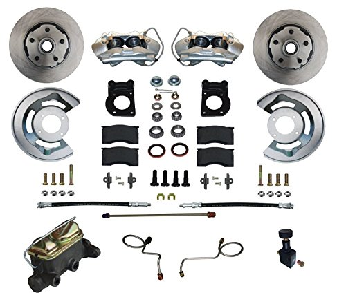 GPS Automotive FC0002-405 - Manual Conversion Kit with Cast Iron M/C Adjustable Proportioning Valve