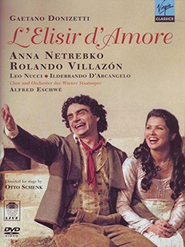 Price comparison product image Donizetti - L'Elisir d'Amore / Eschwe, Netrebko, Villazon, Wiener Staatsoper