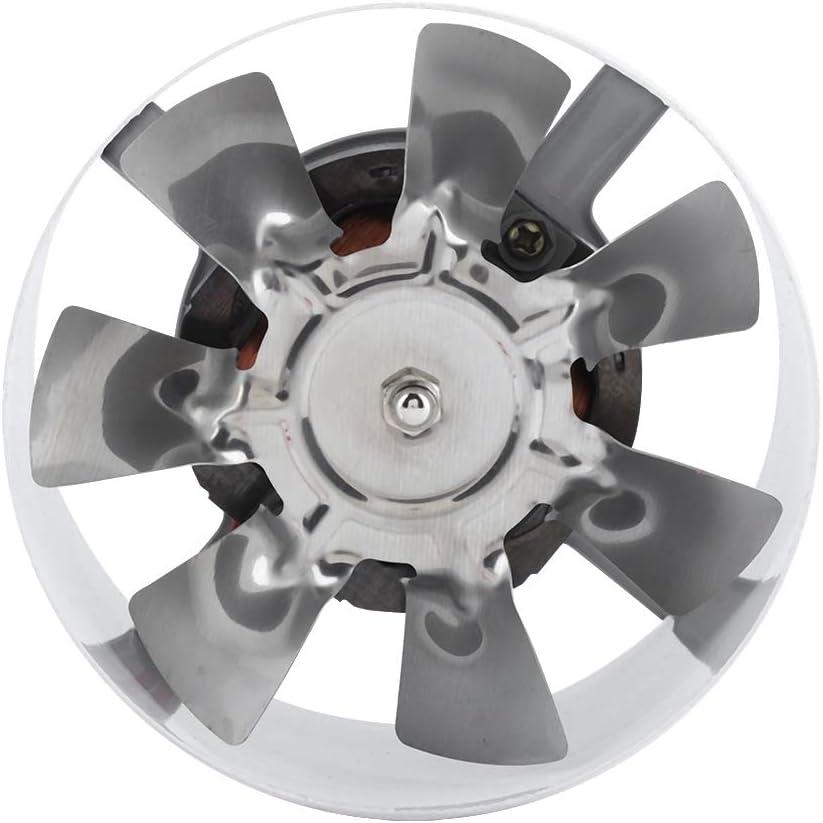 220V Rohrventilator Kanalventilator 4/'/' Einschublüfter mit Kupfermotor,Leichter